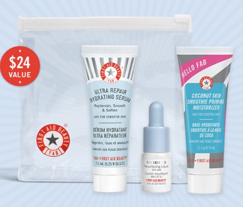 First Aid Beauty mother's day gift with purchase