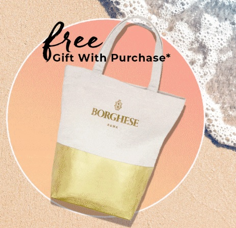 borghese tote gift with purchase