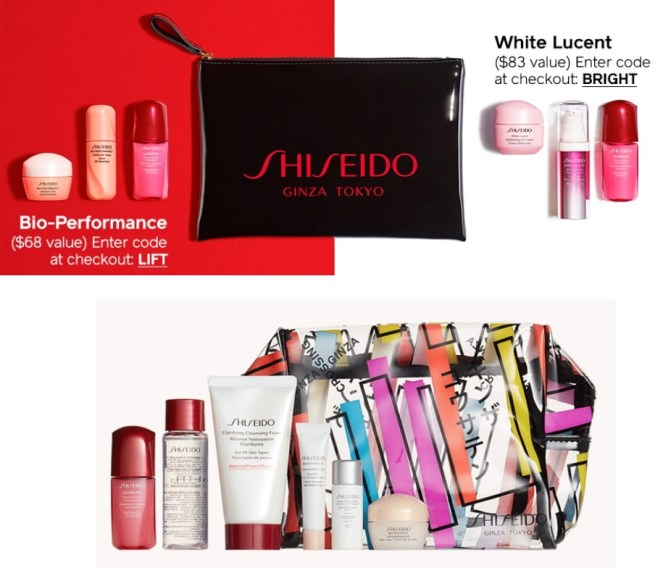 shiseido gifts with purchase may 2019
