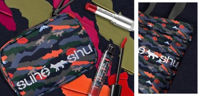 Shu Uemura Maison Kitsune Bags