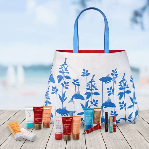 clarins fourth of july gift with purchase 2019