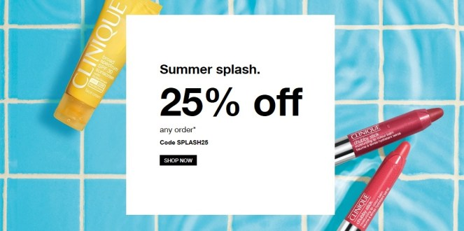 Clinique Summer Splash Sale Even