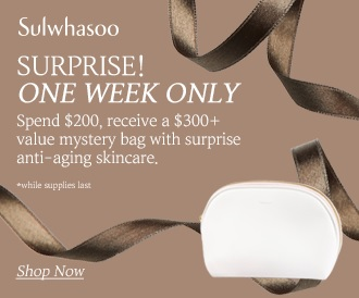 Sulwhasoo Mystery Gift with Purchase