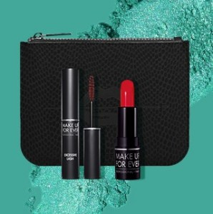 Make Up For Ever mini gift with purchase