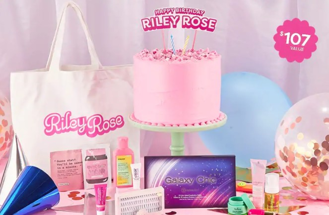 Riley Rose Birthday Gift with Purchase
