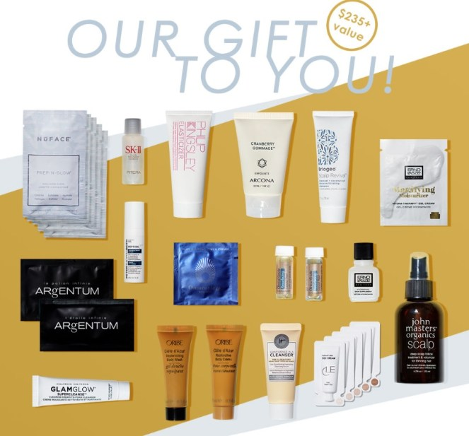 b-glowing fall beauty bundle 2019