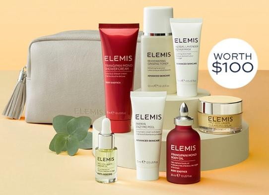 elemis spa gift with purchase