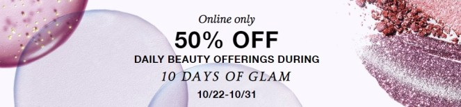Macy's 10 Days of Glam 2019
