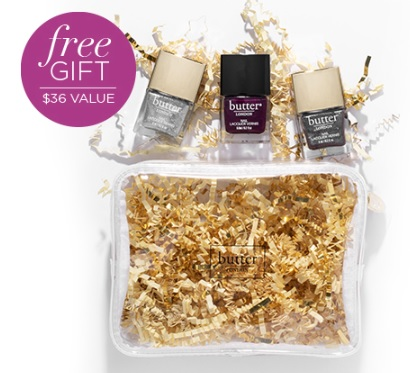 butter london gift with purchase