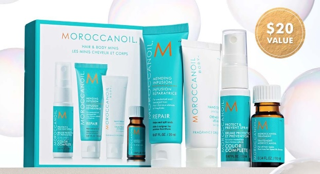 moroccanoil gift with purchase