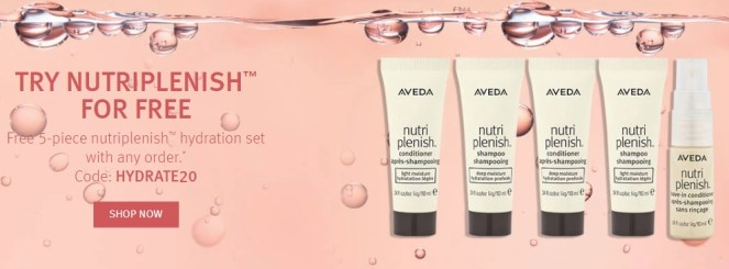 aveda gift with purchase