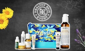 kiehl's healthy skin event gift with purchase