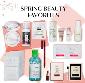 b-glowing spring beauty bundle gift with purchase