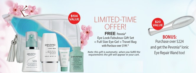 pevonia gift with purchase