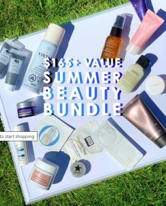 b-glowing summer beauty bundle gift with purchase