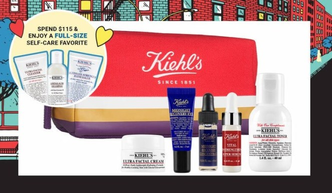 kiehl's gift with purchase