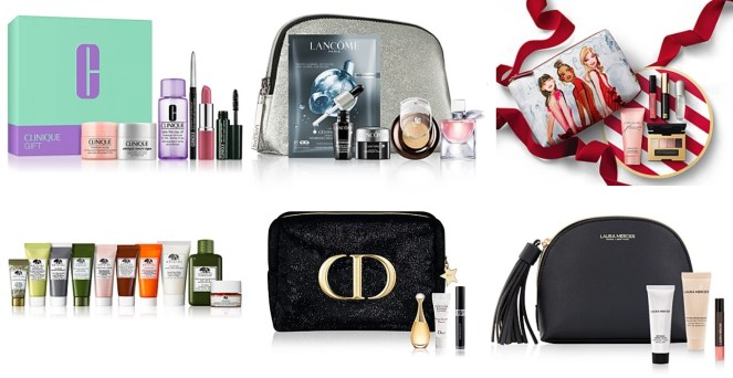 Macy's Cyber Monday 2020 beauty gifts with purchase
