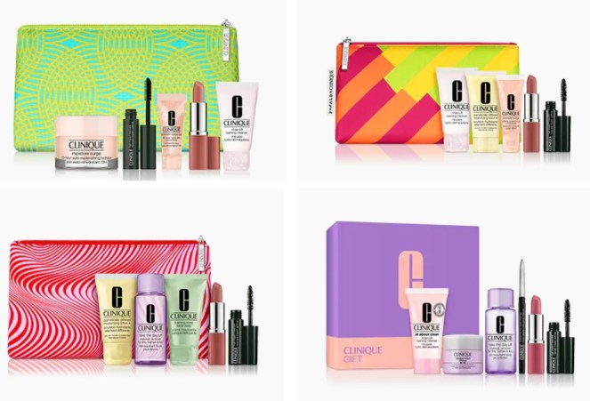 clinique gifts with purchase
