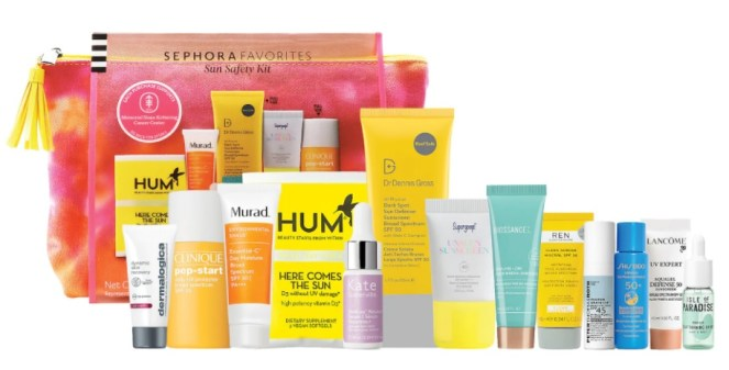 sephora sun safety kit 2021