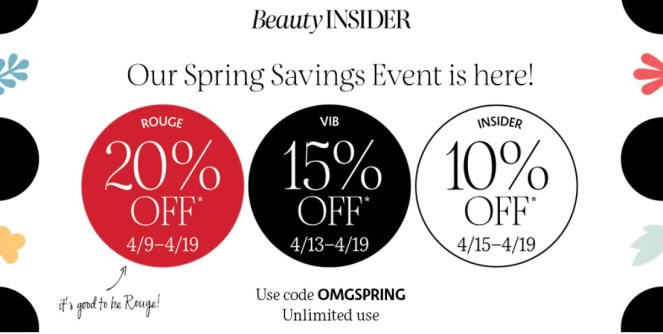 Sephora Spring Savings Event 2021