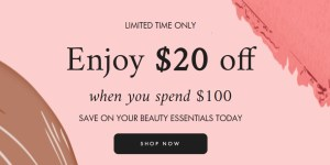 space nk discount event
