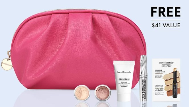 bareminerals gift with purchase