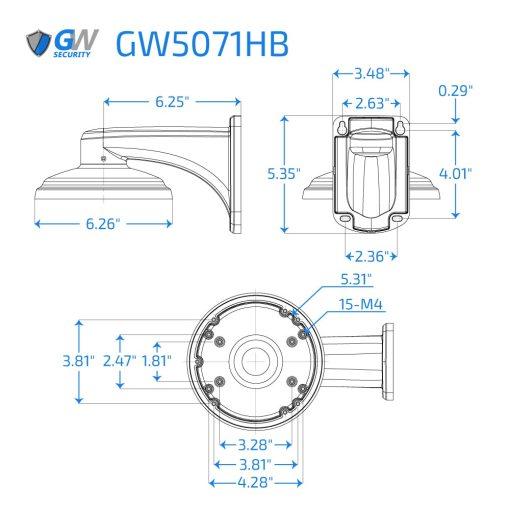 5071HB dimensions