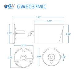 6037MIC dimensions