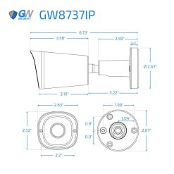 8737IP dimensions