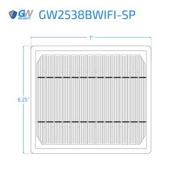 2538BWIFI SP dimensions