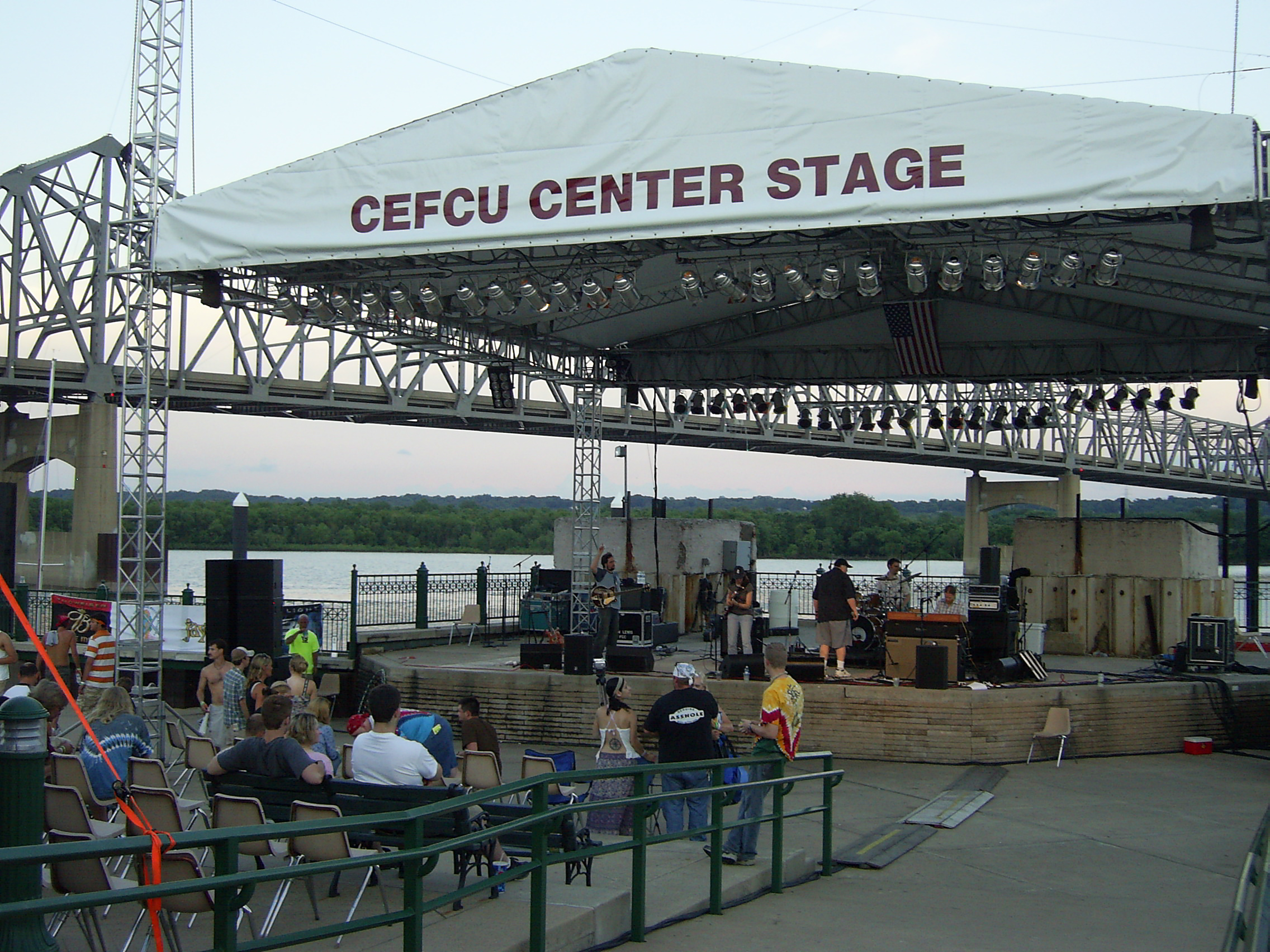 The Sound Stage at the Universal Rhythm Assembly in downtown Peoria.