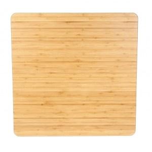Bamboe bord vierkant 600 x 600 mm