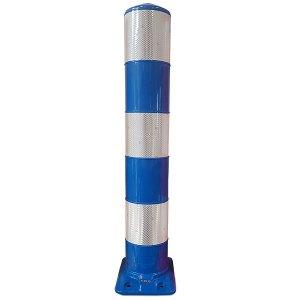 Flexpaal 160 mm blauw/wit klasse 2