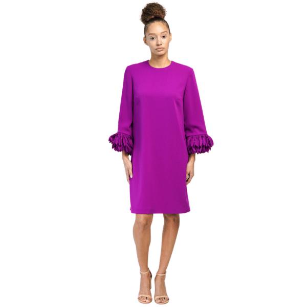 Crepe Cocktail Dress