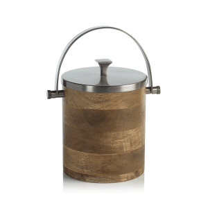 Porto Aman Ice Bucket with Lid by Zodax