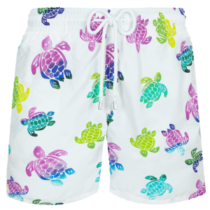 Men Swim Trunks Ronde des Tortues Aquarelle
