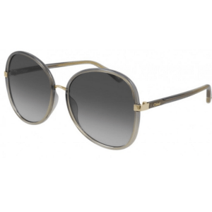 Chloe Gradient Gray Sunglasses product shot front side view