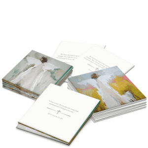 Comfort Scripture Cards product shot front and back views