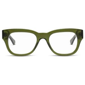 Miklos Reading Glasses in Green product shot front view