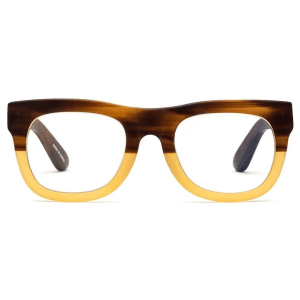 D28 Reading Glasses in Bullet Coffee product shot front view