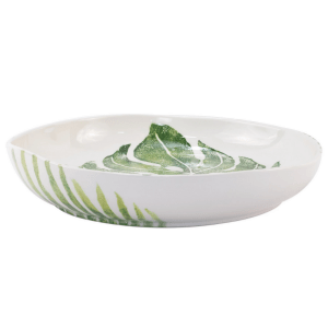 Into the Jungle Shallow Bowl product shot side view