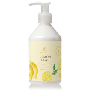 Lemon Leaf Hand Lotion product shot front view