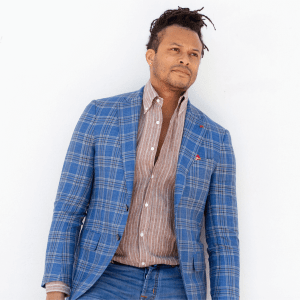 Wool Blend Sports Coat product shot front view