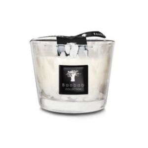 Max 10 White Pearl Candle