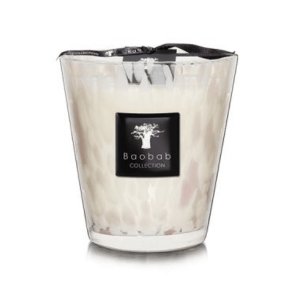 Max 16 White Pearl Candle