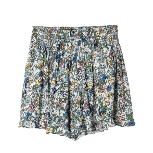 Sophie Crinkle Shorts product shot front view