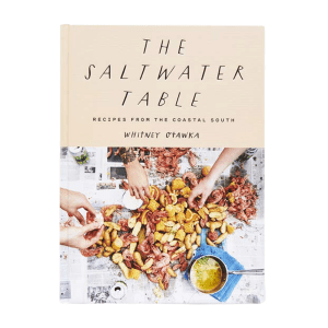 The Saltwater Table Cookbook product shot front view