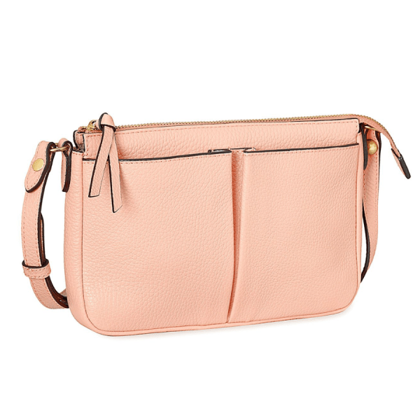 Annabel Ingall Crossbody in Rose product shot front view