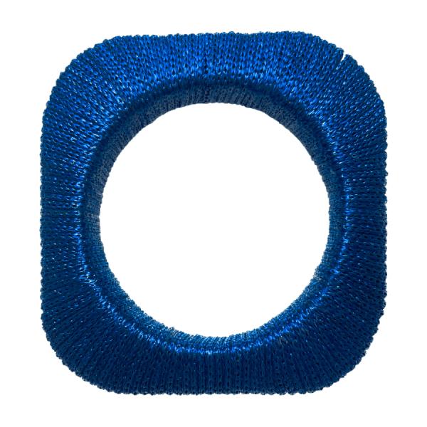 Blue Thread Bangle