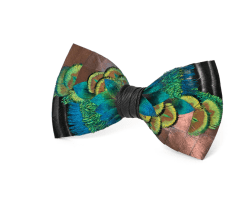 Winter Green Bow Tie